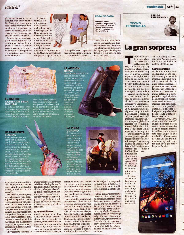Entrevista Javier de Juana en GPS 2